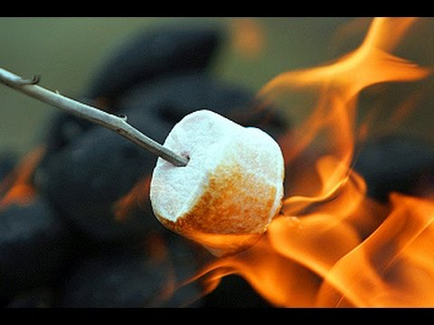 How To Draw A Roasted Marshmallow