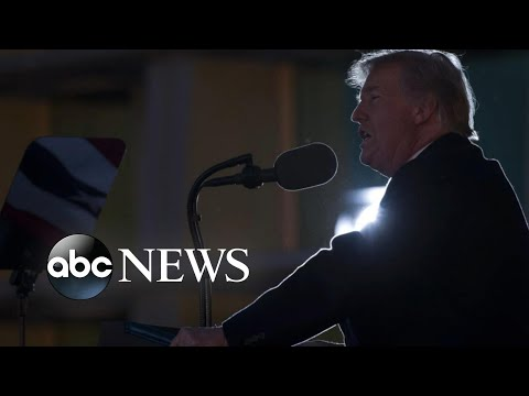 Trump moving along for State of the Union address