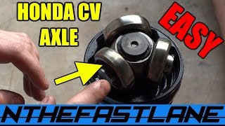 CV Axle Re-Grease Honda