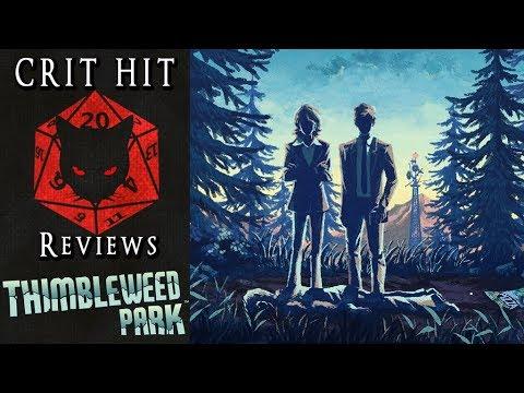 Crit Hit Reviews Thimbleweed Park! Twin peaks Meets Monkey Island?