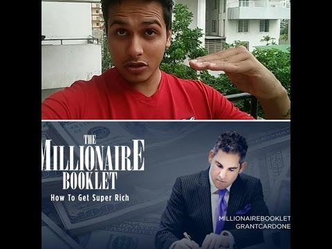 the millionaire booklet how to get super rich pdf