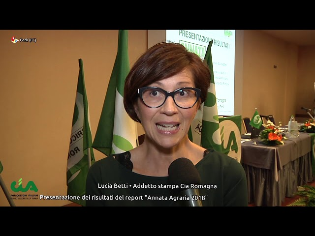 Cia Romagna presenta l'Annata Agraria