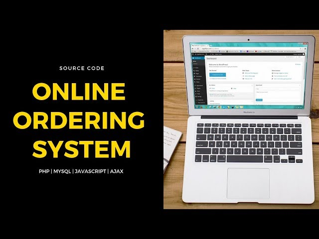Online Ordering System Source Code