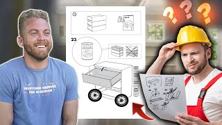 Making Fake Directions \u0026 Hiring Someone to Build my IKEA Furniture
