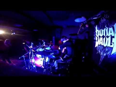 Burial Vault - Return To Point Zero [Drumcam / Live @ Cadillac Oldenburg 2015]