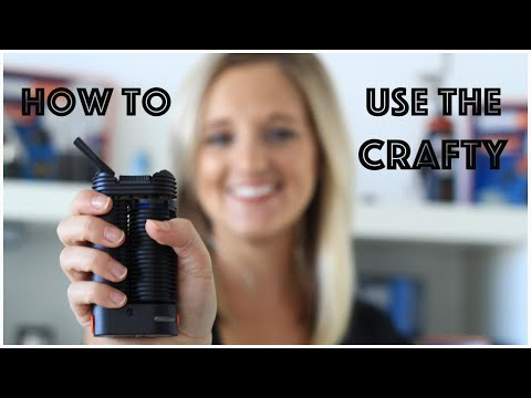 How to Use the Crafty Portable Vaporizer by Storz and Bickel l Demo – VapeFuse