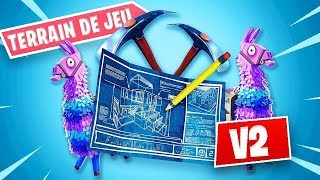RETOUR du MODE TERRAIN DE JEU sur FORTNITE Battle Royale !