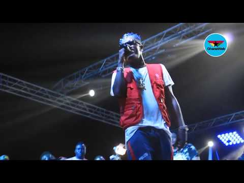 Shatta Wale performs 'Bulletproof' at Untamed Energy Concert