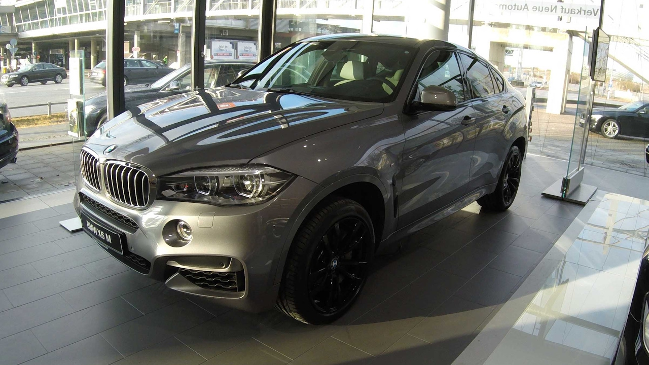 Bmw X6 M Performance Compilation 2 Grey And White Colour F16