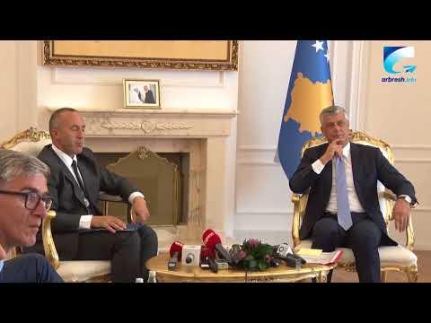 Takohen presidenti Hashim Thaçi e kryeministri Ramush Haradinaj