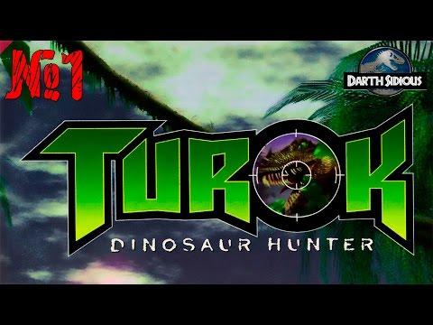 Turok: Dinosaur Hunter #1 - Начало игры