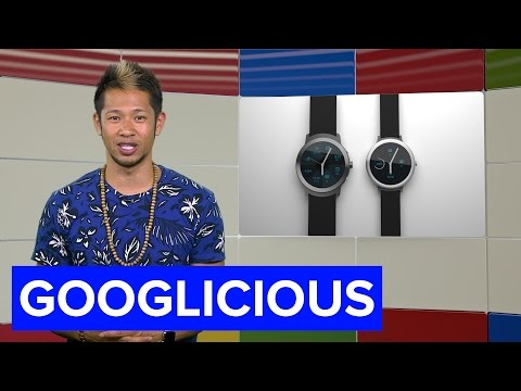 Google's working on its own smartwatch for 2016 (Googlicious)