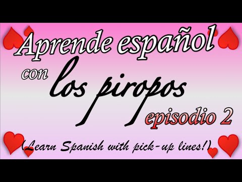 Spanish flirt lines