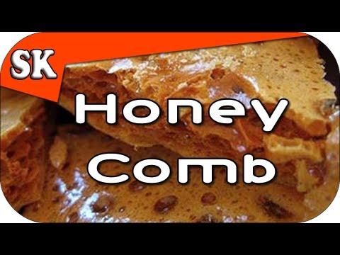 CRUNCHY HOMEMADE HONEYCOMB - HOKEY POKEY RECIPE