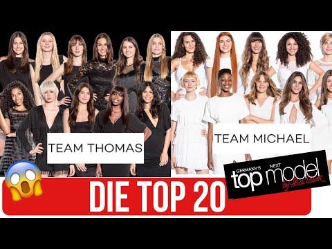 GNTM 2018 - Das sind die Top 20 Germanys next Topmodel KANDIDATINNEN 2018