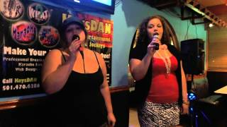 Leah Lovell and Eden   Leave The Pieces {Karaoke by KeysDAN}
