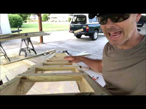 DIY Ladder Tree Stand