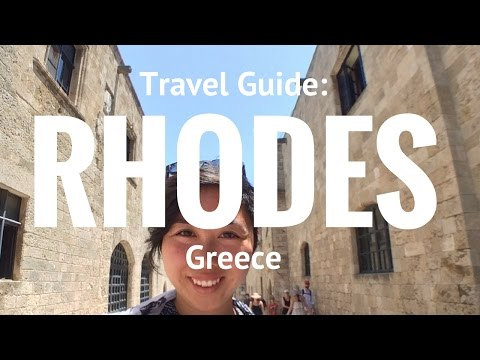 What to do in Rhodes, Greece? Travel Guide & Vlog