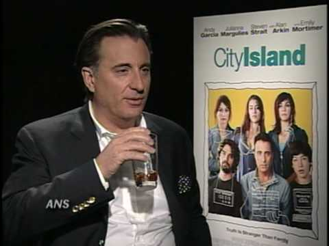ANDY GARCIA ANS INTERVIEW CITY ISLAND