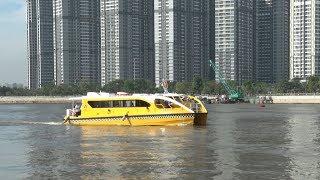 Tin Tức 24h  : TP Hồ Chí Minh khai trương tuyến buýt đường sông số 1