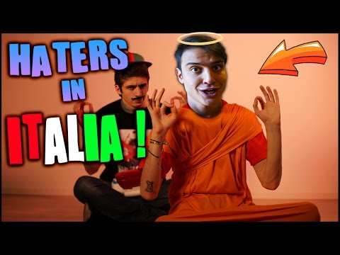 HATERS IN ITALIA vs OCCIDENTALI'S KARMA ! Reazione PARODIA ! | Awed™