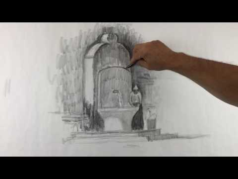 Wanka Art Narrative drawing 2