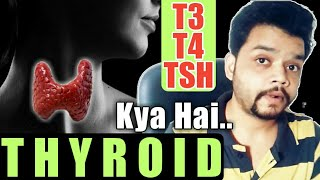 Thyroid In Hindi | T3,T4,TSH Harmon Explained
