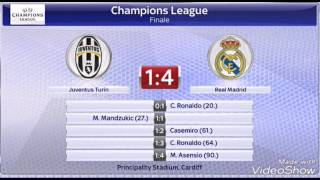 UEFA Champions Leage Finale 2017 (Ergebnisse)