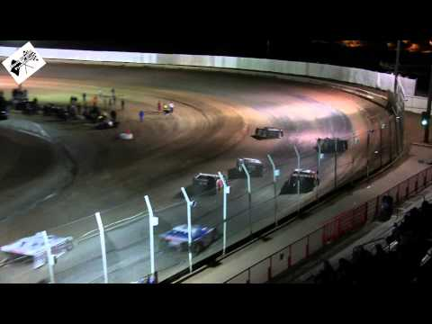 Late Model Main (Part 1) January 18th 2015 At USA Raceway
