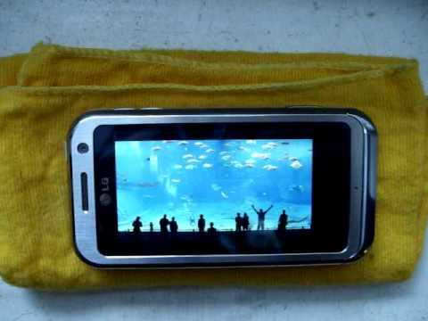 LG KM900 Arena HD 720x480 DisplayDemo