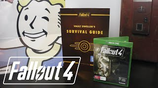 Fallout 4 & Survival Guide Unboxing