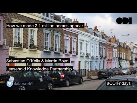 Friday lunchtime lecture: How we made 2.1 million homes appear
