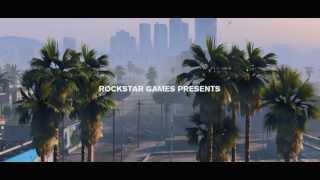 Трейлер игры GTA 5 ( на английском ) но всё равно стоит посмотреть.