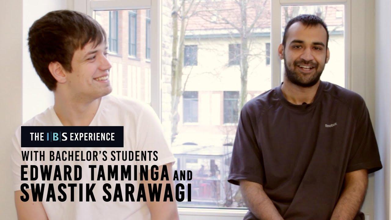 The IBS Experience With Swastik Sarawagi And Edward Tamminga