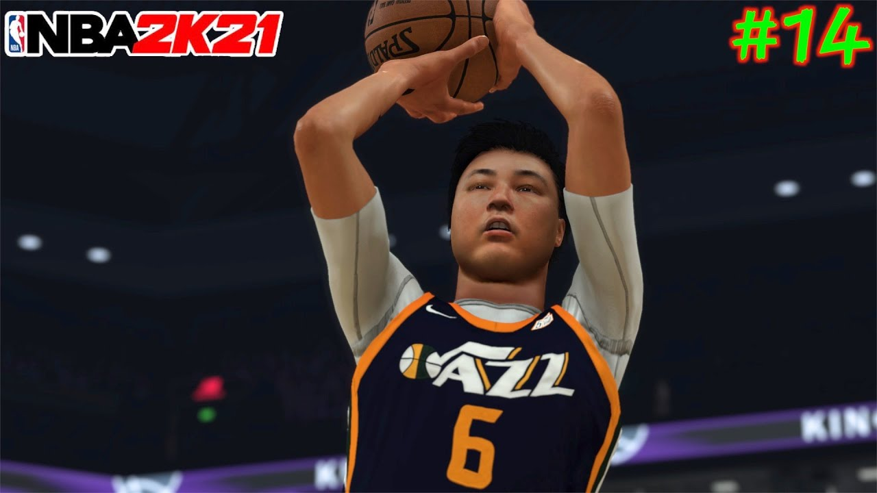 【NBA 2K21】#14 ついに初めて本当に殴れたwww 今作初勝利が目の前😍【マイキャリア】