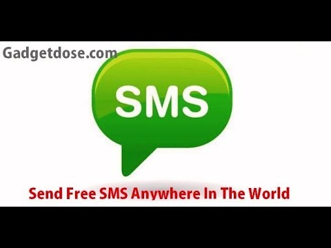 Send Free SMS Unlimited Anywhere In The World Without Registration 2017