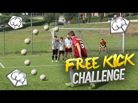 FREEKICK CHALLENGE !! w/BRAINLESS