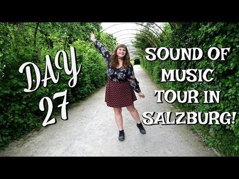 SOUND OF MUSIC TOUR IN SALZBURG! | EUROPE TRAVEL VLOG | DAY 27