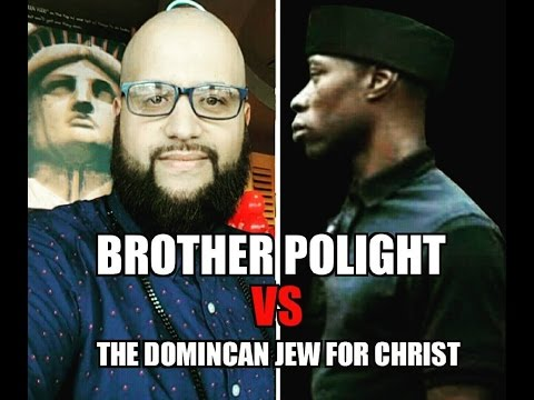 The Dominican Jew for Christ vs Brother POLIGHT : Authenticating the Existence of God?