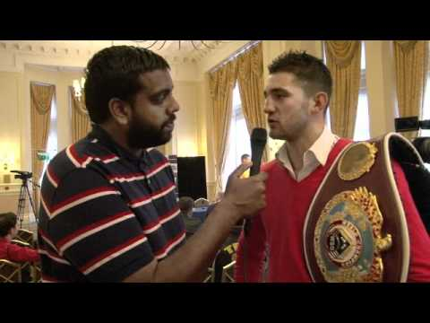 Nathan Cleverly Interview for iFILM LONDON / CLEVERLY v BELLEW PRESS CONFERENCE