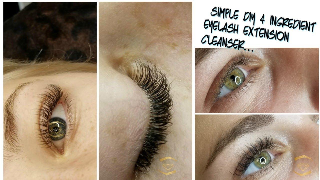 b8d2d760a61 The Lash CEO | My DIY Eyelash Extension Cleanser - YouTube