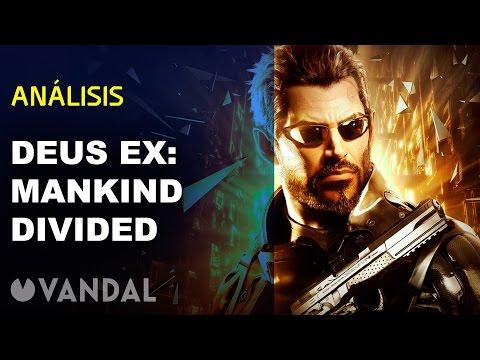 Deus Ex: Mankind Divided - Videoanálisis