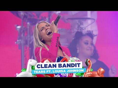 Clean Bandit - 'Tears' feat Louisa Johnson (live at Capital's Summertime Ball 2018)