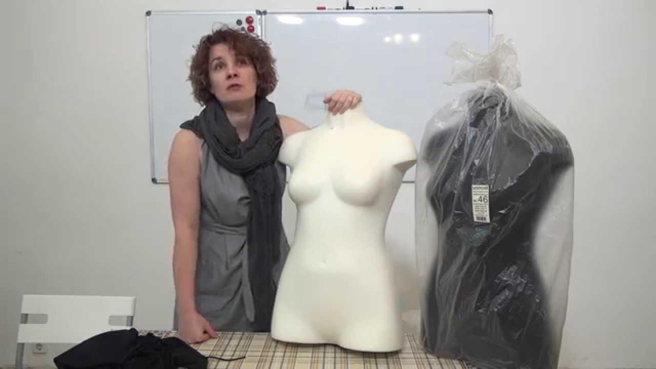 Манекен Adjustoform Lady Valet White - YouTube