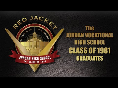 THE 1981 JORDAN VOCATIONAL HIGH SCHOOL GRADUATES