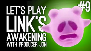 Link's Awakening Switch Gameplay: Link's Awakening with Producer Jon Pt 9 - MANBO & THE SPOOPY GHOST