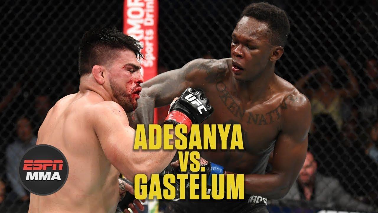 Robert Whittaker dominates Kelvin Gastelum, calls for Adesanya ...