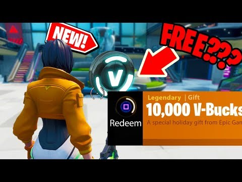 *NEW* I found FREE V-BUCKS at the MEGA MALL in FORTNITE???