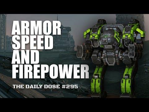 Armor Speed and Firepower. Heavy Medium Laser Linebacker - Mechwarrior Online The Daily Dose #295