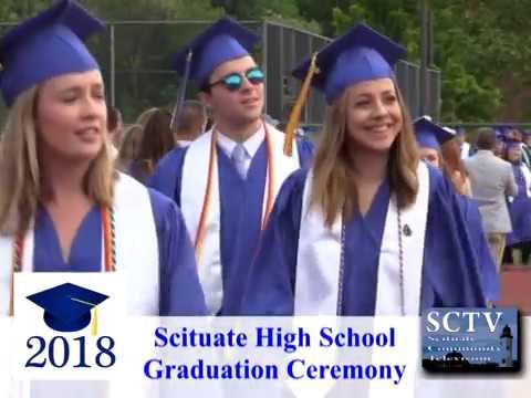 Scituate High School 2018 Graduation Ceremony - 06/01/18